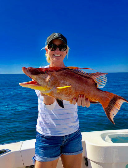 Hogfish caught in Tampa Bay
